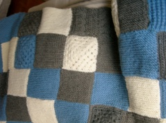 knit quilt